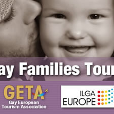 Gay families tourism campaign