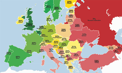 Gay-friendliness in Europe