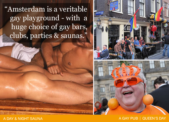 Europe's Gay playground - Amsterdam