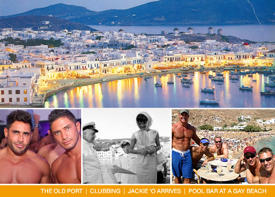 Mykonos - one of Europe's 'BIG 4' gay resorts