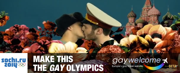 Make this the Gay Olympics in Russia