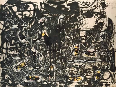 Jackson Pollock - Blind Spots