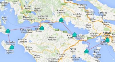 AdonisGaySailing: Athens - Patras - Zakynthos