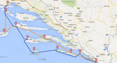 AdonisGaySailing: Split - Hvar - Dubrovnik