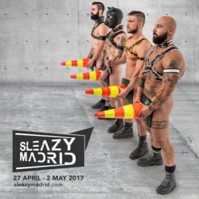 Sleazy Madrid gay leather fetish weekend