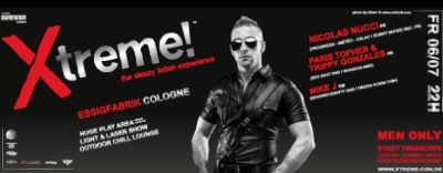 Xtreme! Cologne Pride's biggest fetish event 2014!