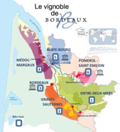 Castets-en-Dorthe to Entre-Deux-Mers