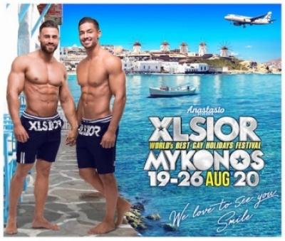 XLsior gay clubbing, Mykonos