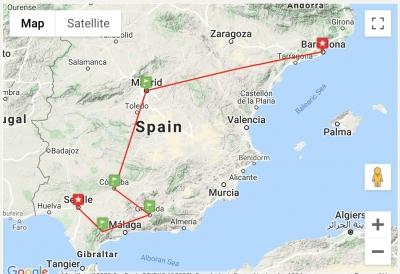 SENSATIONAL SPAIN - Barcelona, Madrid, Andalucia
