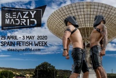 Sleazy Madrid gay leather fetish weekend